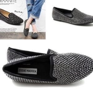 Steve Madden Concord Studded Smoker's Loafers 6.5M